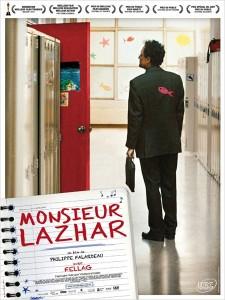 Monsieur Lazhar 225x300 Les sorties ciné du mercredi 5 septembre