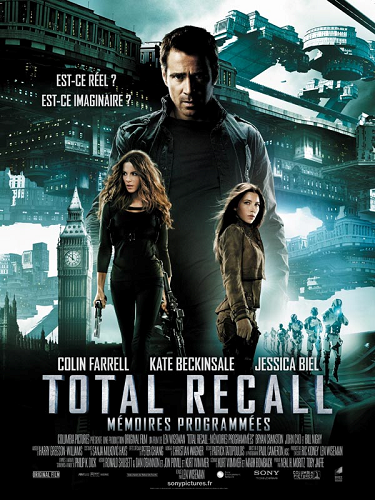 Total Recall Colin Farrell Kate Beckinsale Jessica Biel Total Recall (le remake)   totale daube