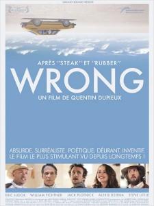 Wrong 225x300 Les sorties ciné du mercredi 5 septembre