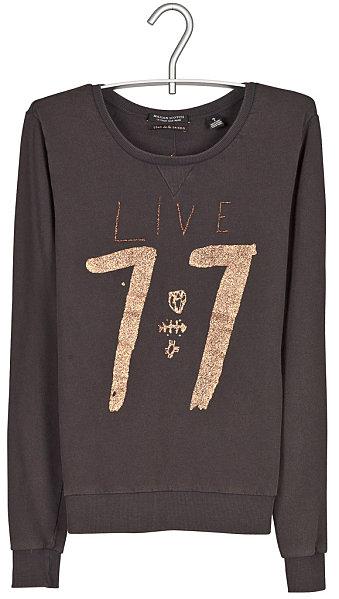sweat shirt live 77 Les tendances que je ne suivrai pas cette saison...