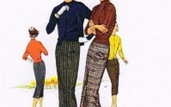 Automne chic (la mode dans les années 1950)