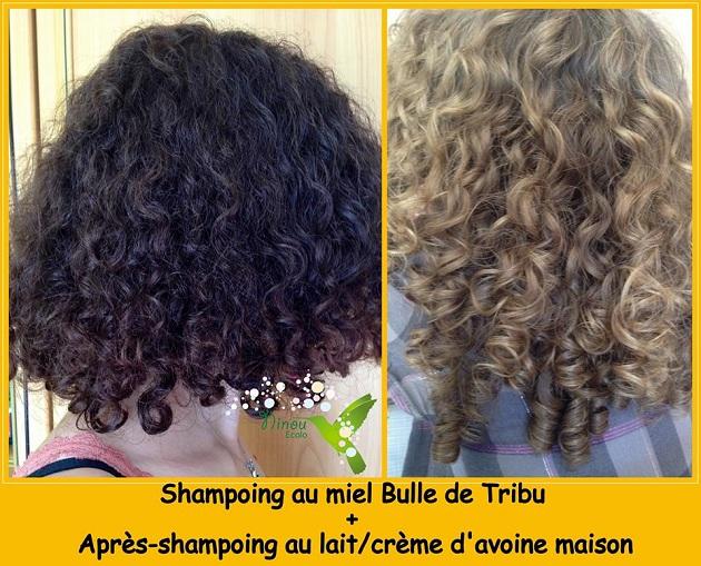 Shampoing naturel pour cheveux blond