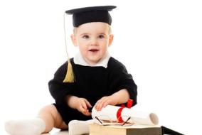 bebe-diplome-fac-etude-mignon-livre