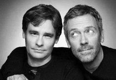 Robert Sean Leonard et Hugh Laurie