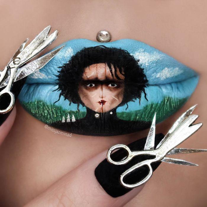 Cette make-up artiste transforme ses lèvres en véritables oeuvres d'art | #14
