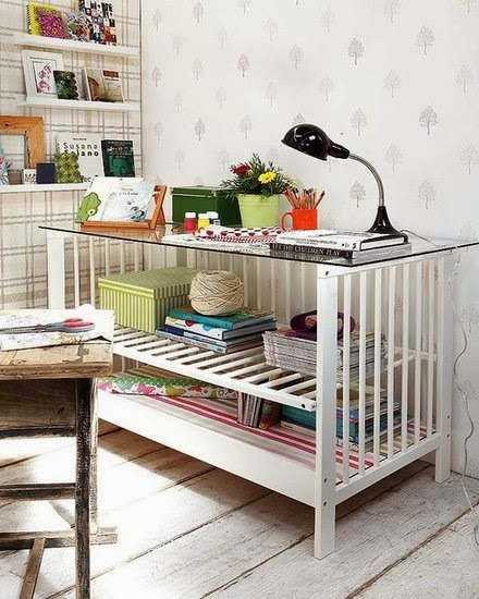 20 idées pour transformer le lit de bébé de votre enfant quand il devient trop grand pour aller dedans | #5
