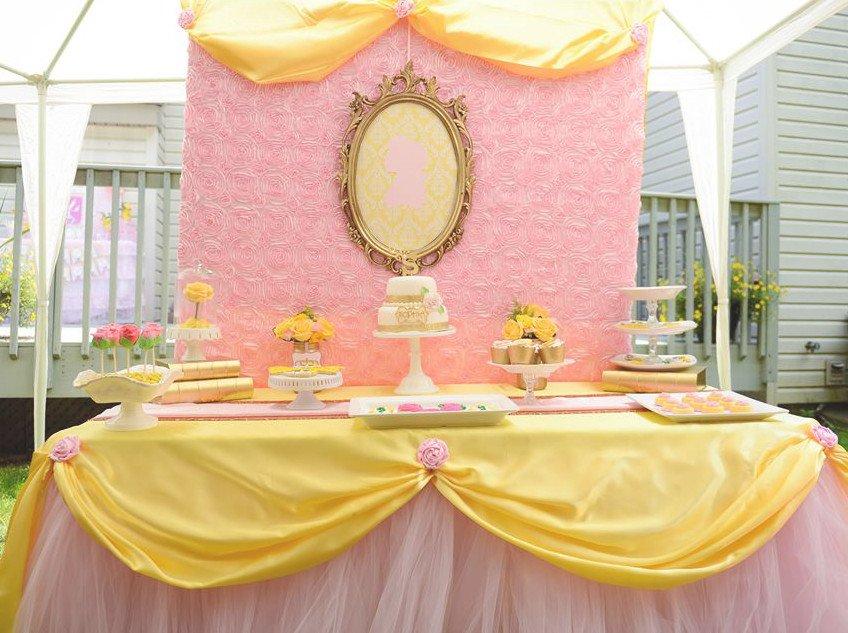 Decoration Anniversaire La Belle Et La Bete