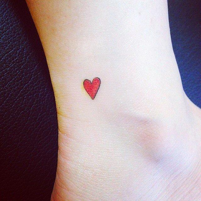 48 Idees De Tatouages Coeur Tellement Mignons Que Vous Voudrez Les