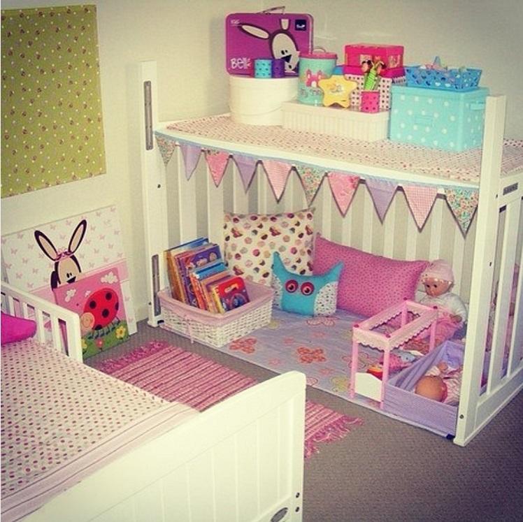 20 idées pour transformer le lit de bébé de votre enfant quand il devient trop grand pour aller dedans | #4