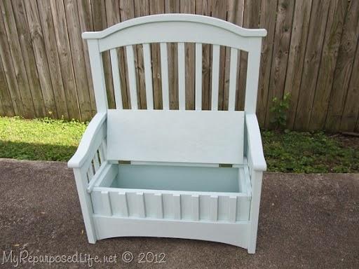 20 idées pour transformer le lit de bébé de votre enfant quand il devient trop grand pour aller dedans | #16