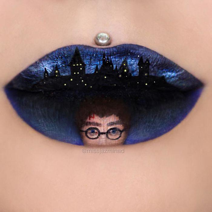Cette make-up artiste transforme ses lèvres en véritables oeuvres d'art | #9