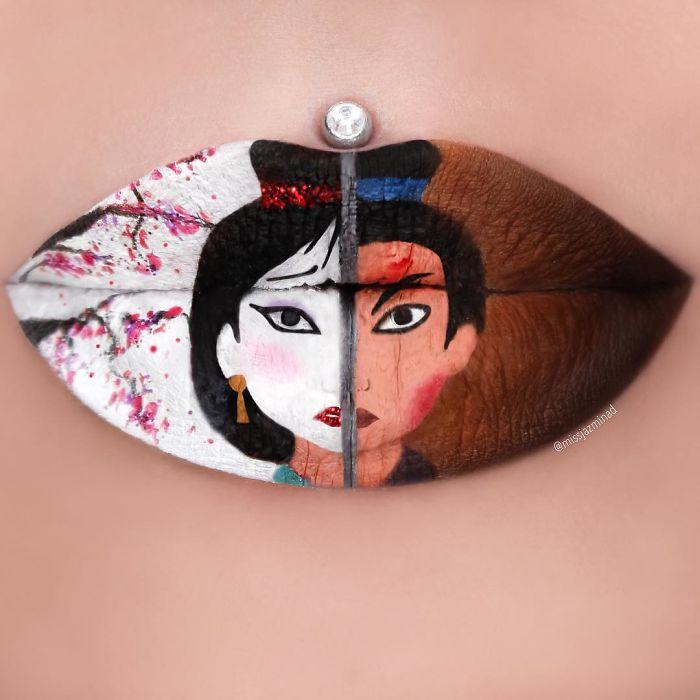Cette make-up artiste transforme ses lèvres en véritables oeuvres d'art | #5