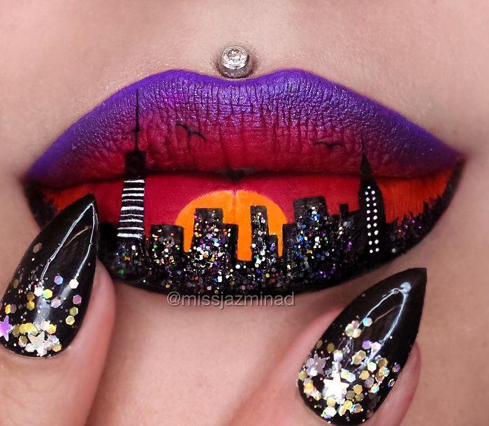Cette make-up artiste transforme ses lèvres en véritables oeuvres d'art | #11