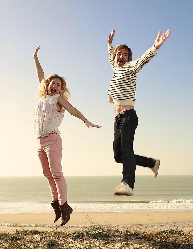 Julie & Thib jump
