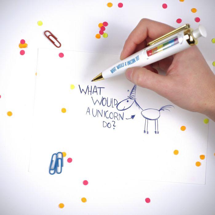stylo-licorne