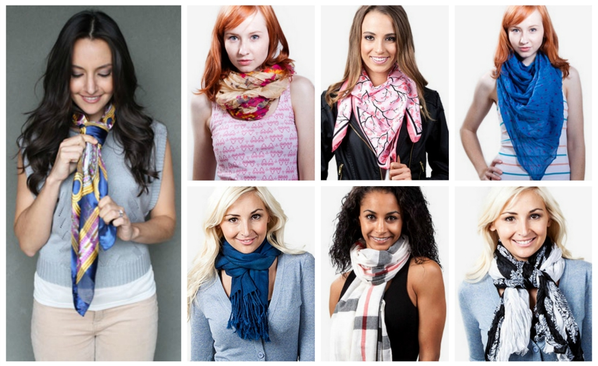 Exceptionnel 25 façons de nouer son foulard | So Busy Girls UV64