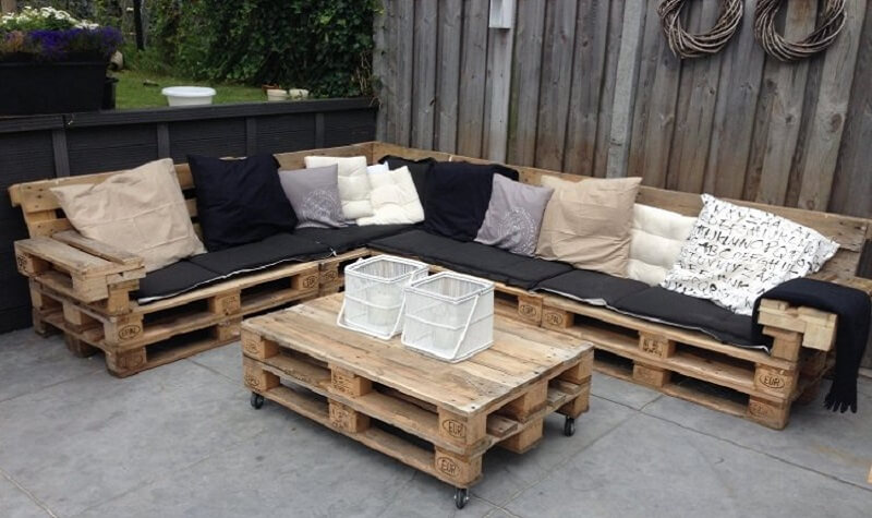 6 astuces pour am nager une terrasse soi m me pour pas. Black Bedroom Furniture Sets. Home Design Ideas