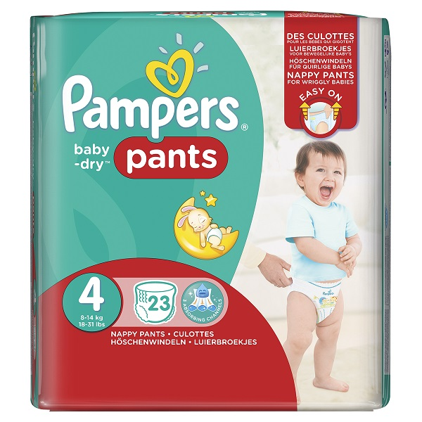 Paquet-couches-Pampers-baby-dry-Pants-