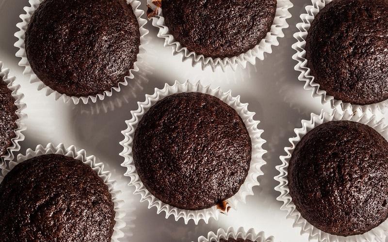 cupcake-chocolat-leger-peu-calorique