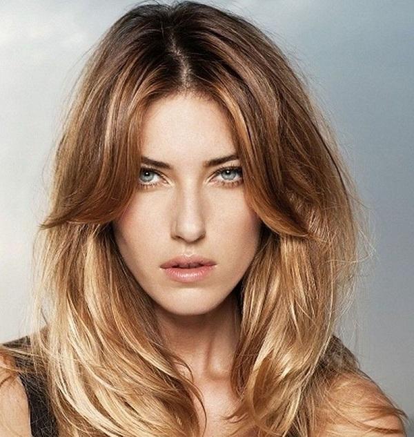 Coiffure pour cheveux boucles long