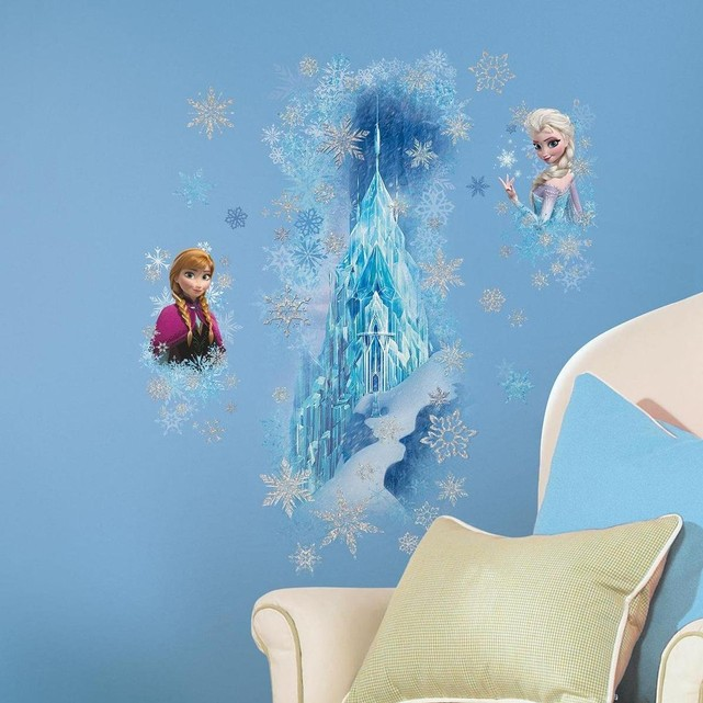 stickers-scintillants-la-reine-des-neiges