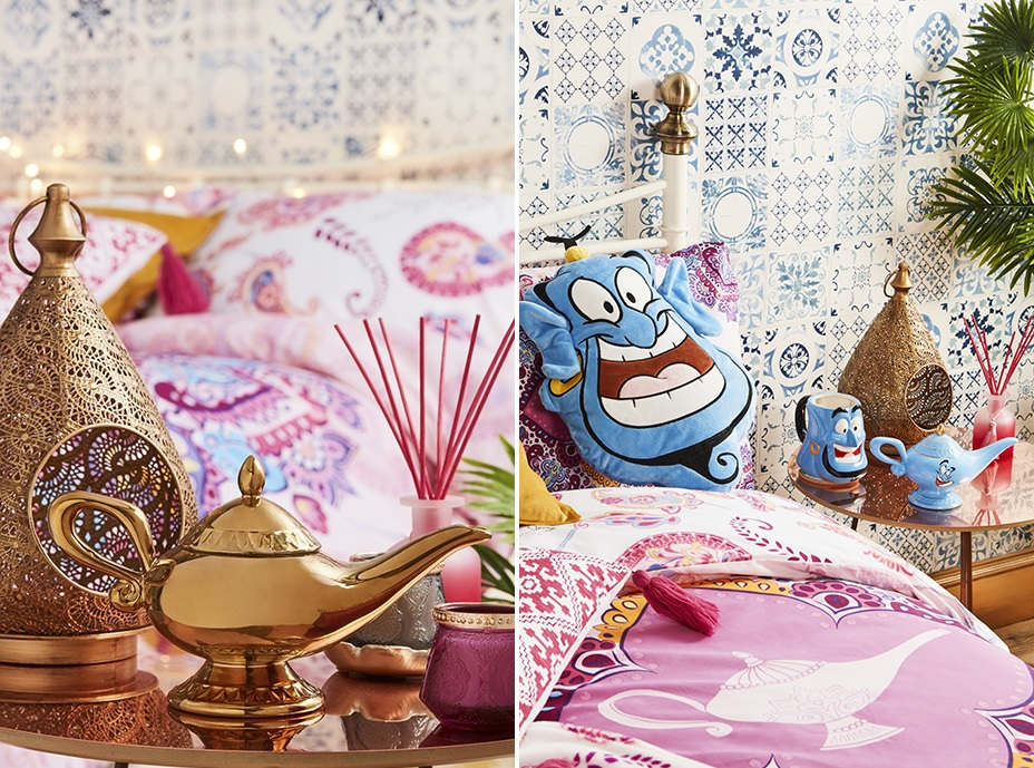 la collection d co aladdin d barque chez primark et elle est sublime so busy girls. Black Bedroom Furniture Sets. Home Design Ideas