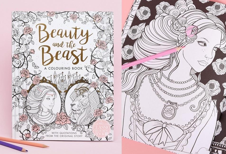 livre coloriages anti stress la belle et la - Livre De Coloriage Anti Stress