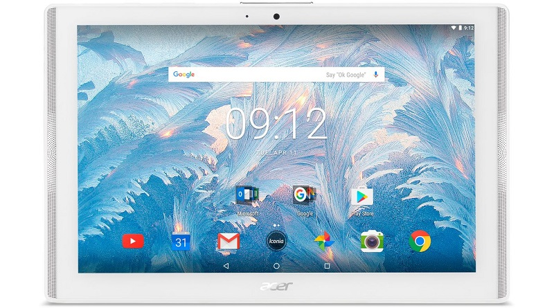 tablette-acer-blanche