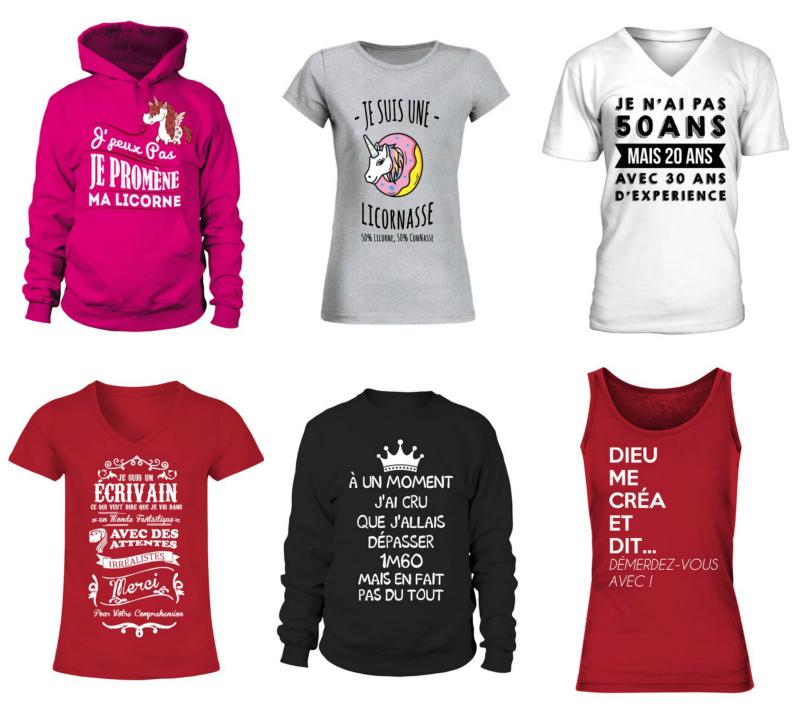t-shirt-personnalise-femme-