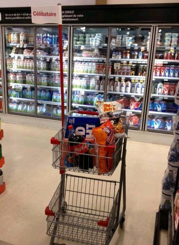 caddie-special-celibataire-supermarche-courses