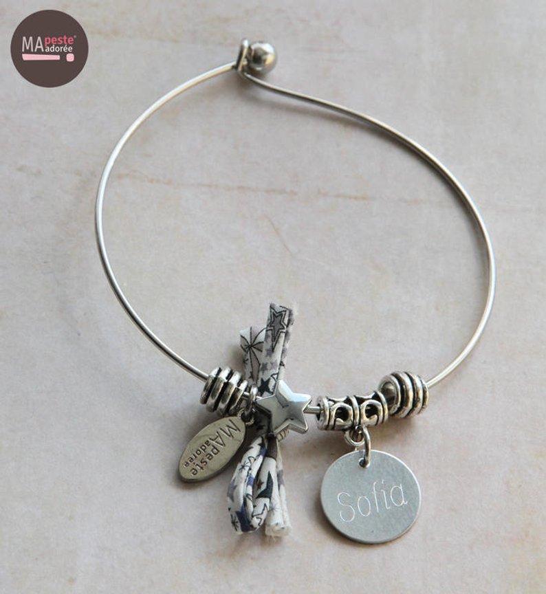 bracelet-jonc-personnalise-etoile