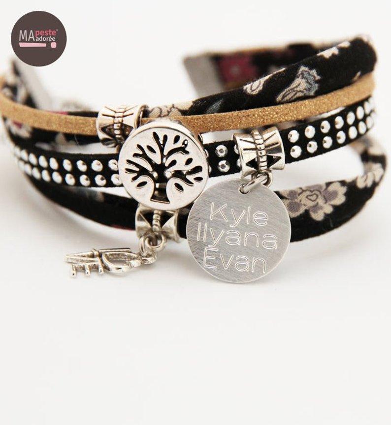 bracelet-personnalise-maman-prenoms-enfants