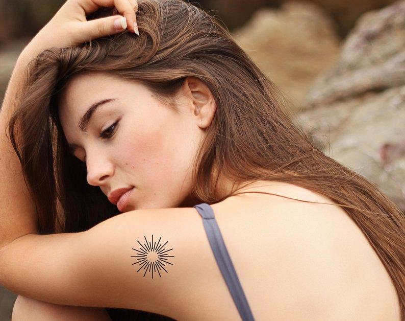 tatouage-temporaire-soleil