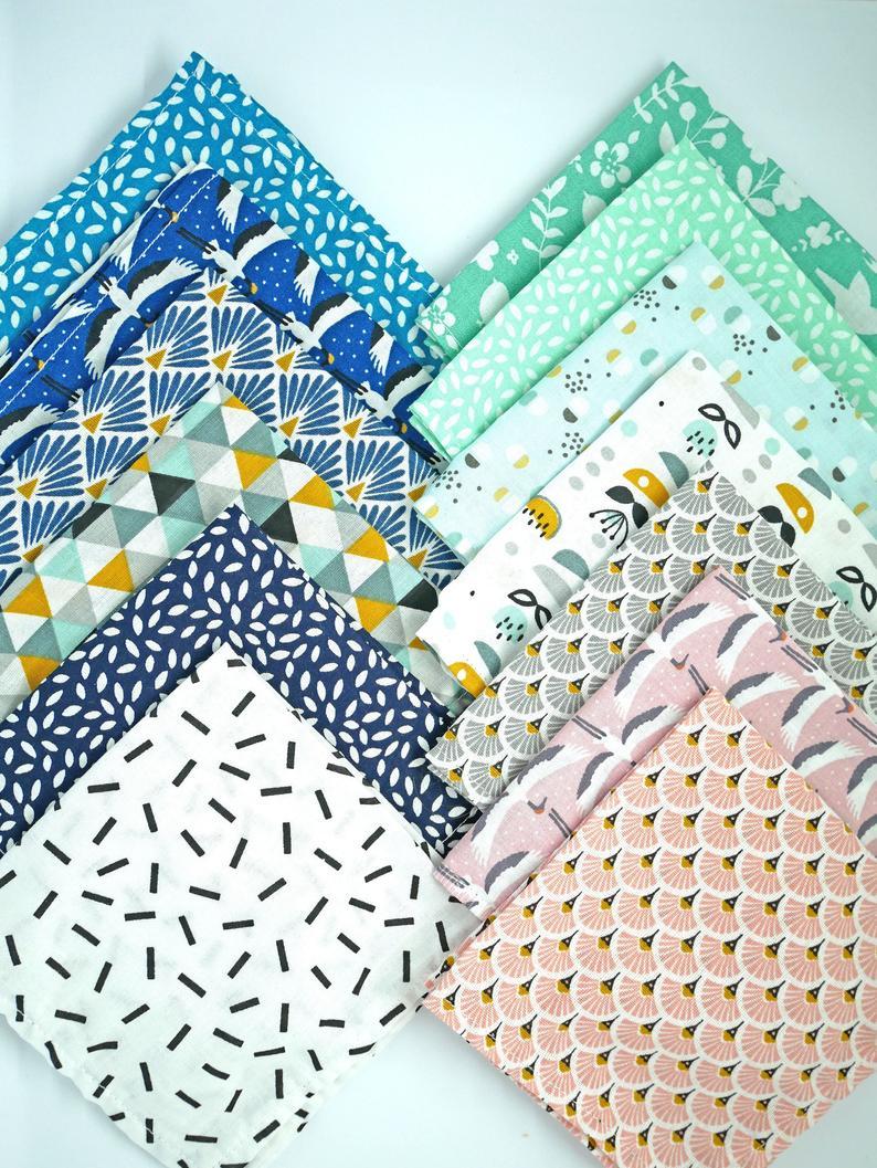 mouchoirs-en-tissu-colores