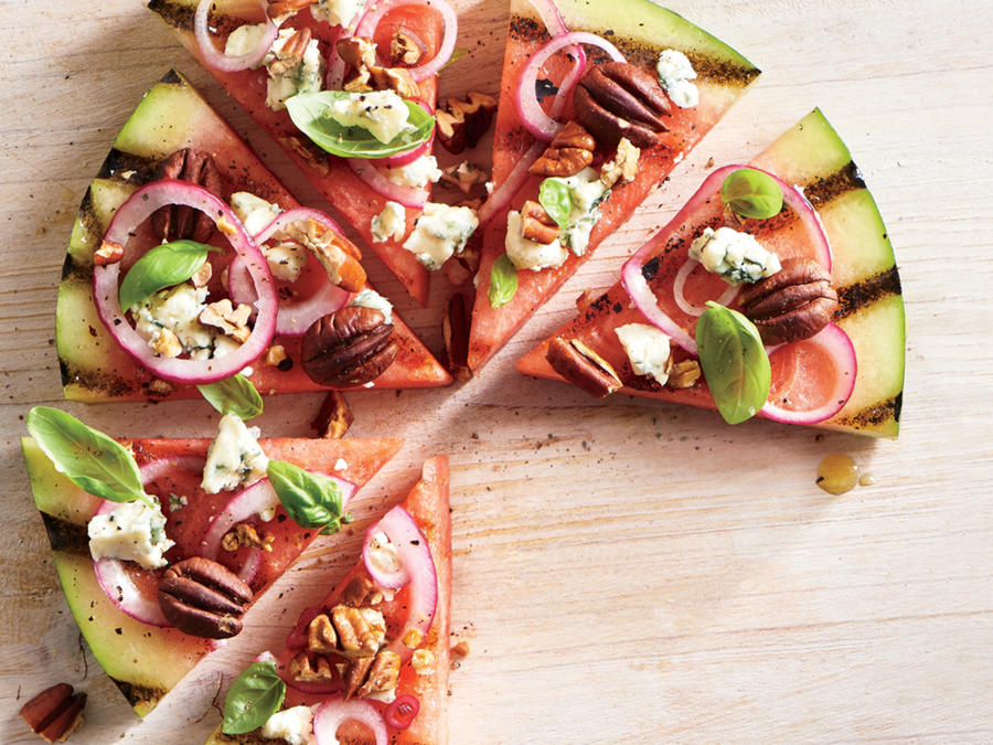 grilled-watermelon-pizza