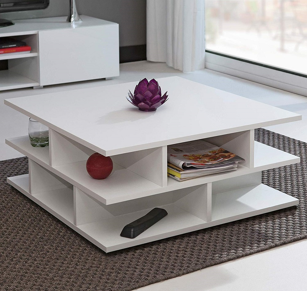 table-basse-carree-blanche