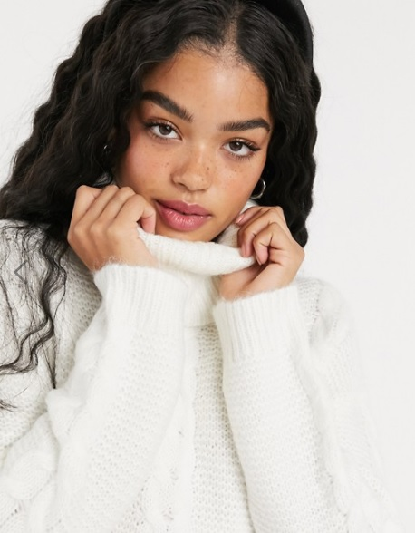pull-pas-cher-asos-pull-col-roule-blanc