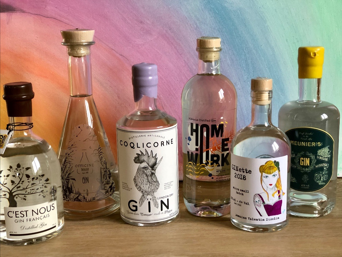 bouteilles-gin