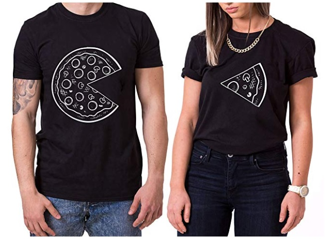 t-shirt-couple-pizza