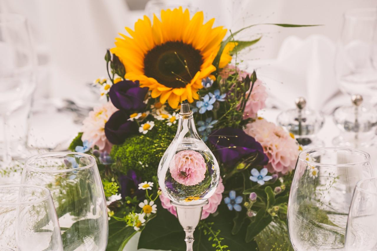 fleurs-tournesol-centre-de-table-mariage