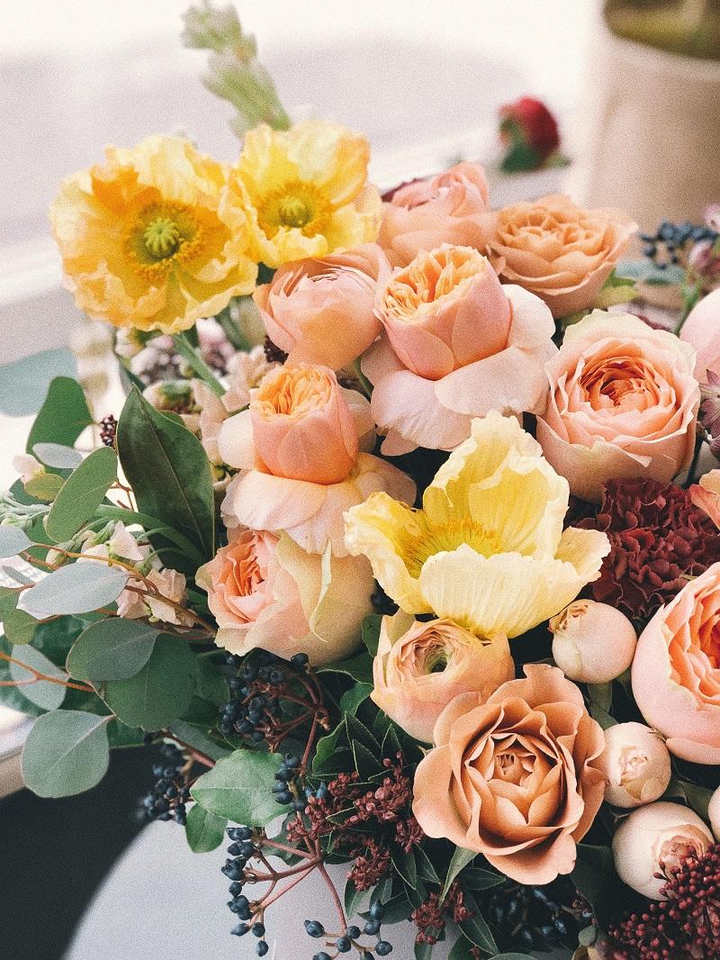 bouquet-fleurs-roses