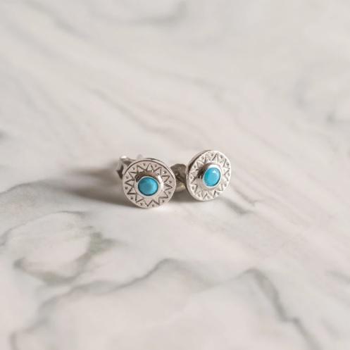 boucles-oreilles-argent-semi-pierre-precieuse-turquoise