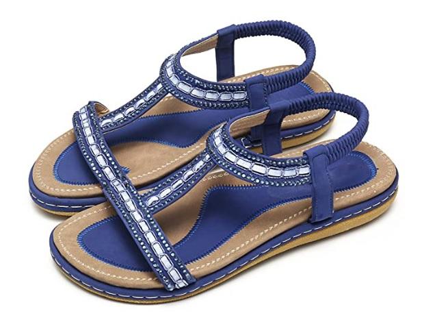 sandales-pas-cher-bleu