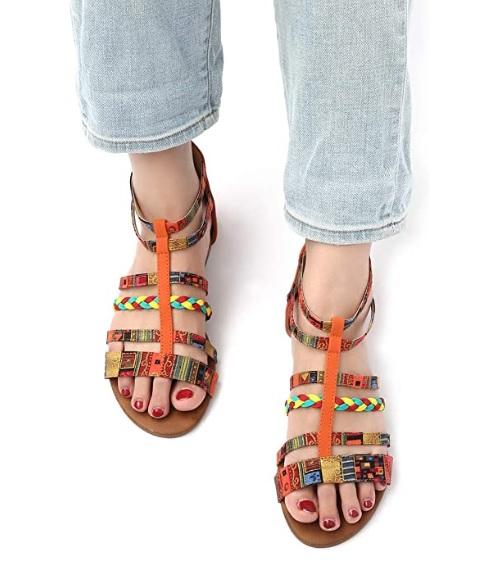 sandales-pas-cher-colorees