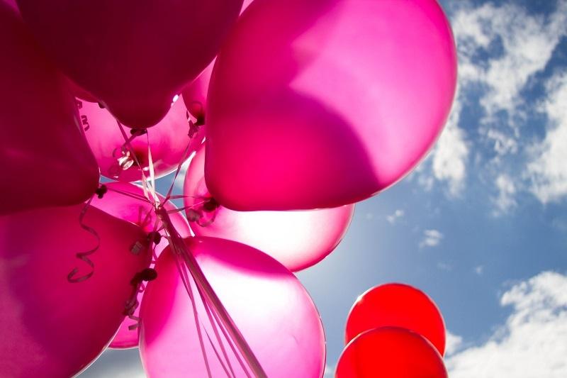 ballons-baudruche-rose