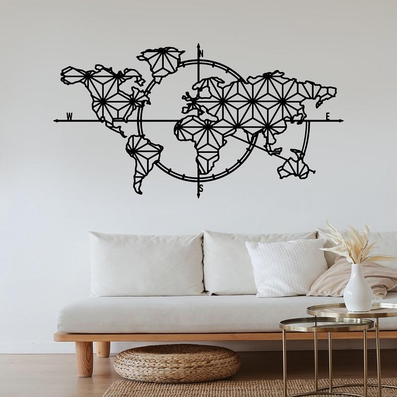 decoration-murale-carte-du-monde