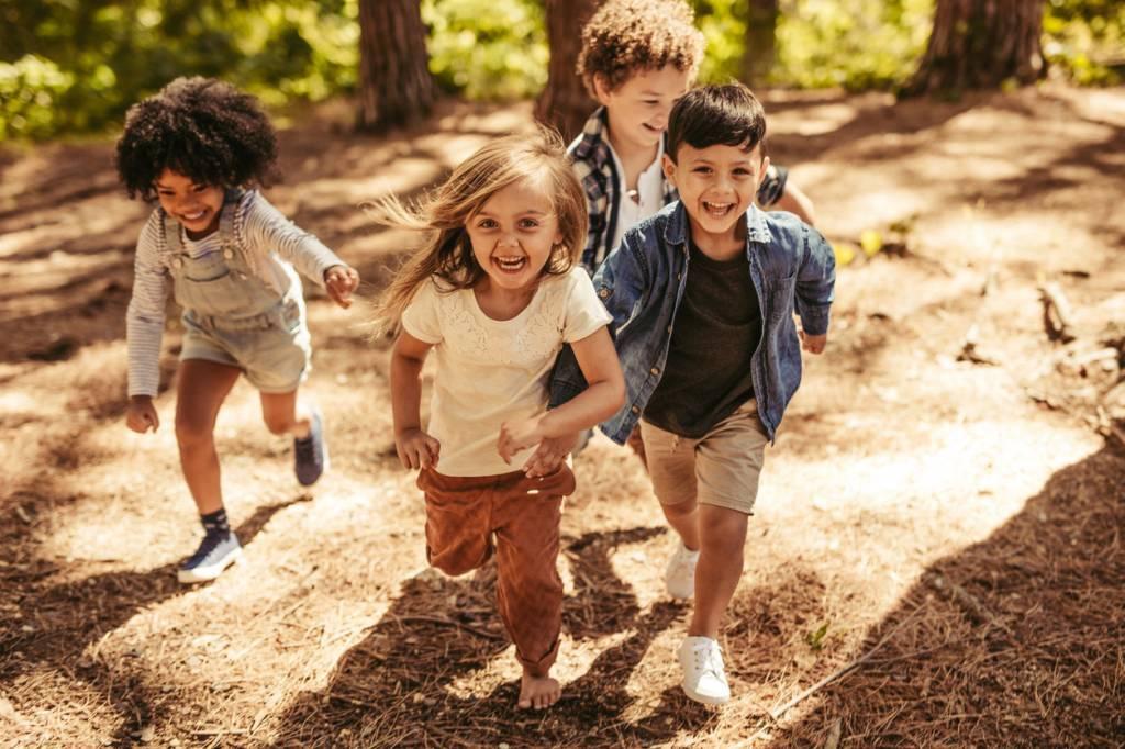 enfants-camping