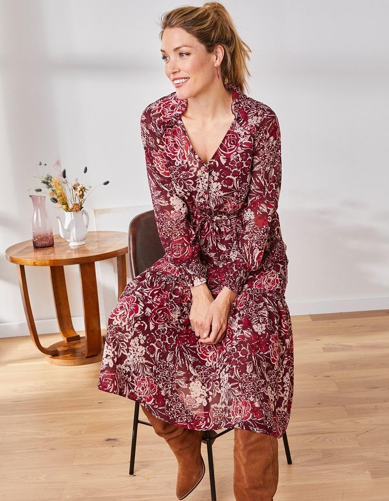 robe-rose-bordeaux