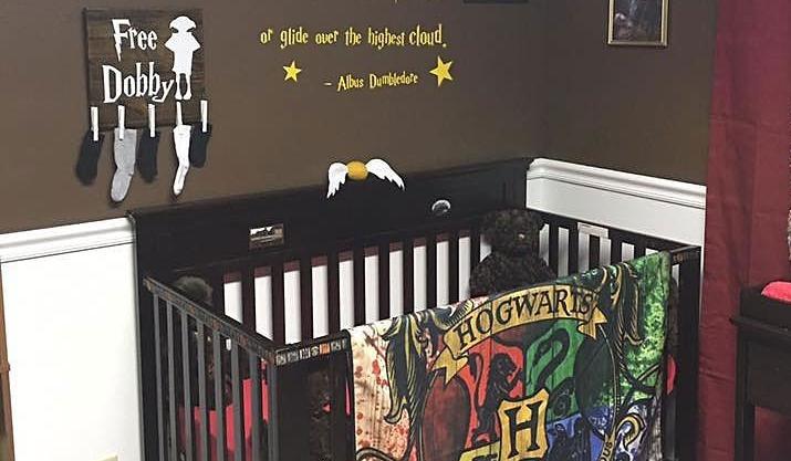 Ces parents ont cr une chambre d 39 enfant harry potter - Cree sa chambre ...