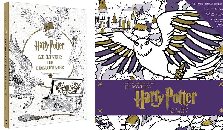 5 Livres De Coloriages Harry Potter Pour Passer Des Soirees Magiques So Busy Girls